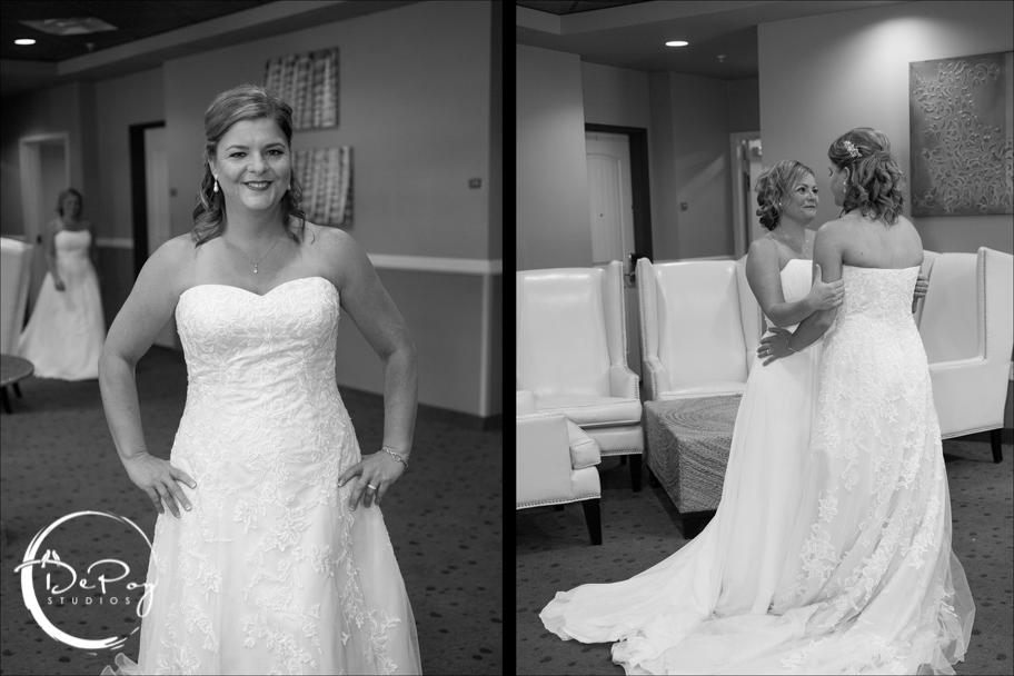 Weddings, First look, gay wedding, same sex wedding photographer, Chandler wedding photographer, Gilbert wedding photographer, Western Skies Golf wedding, lgbt wedding, brides, DePoy Studios